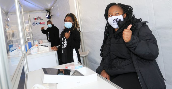 Source: ©supplied by agency 3,400 EVDS users, 380 contact centre staff and over 3,100 vaccinators have been trained to use the EDVS