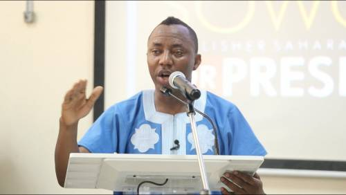 Who Is Afraid Of Sowore? By Tony Ademiluyi